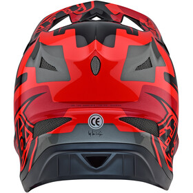 Troy Lee Designs D3 Fiberlite Helmet speedcode/red